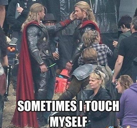 Thor 2. .. Masthorbation