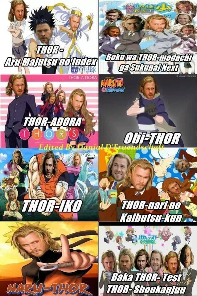 Thor. . fl ii. i would watch boku wa thor-modachi ga sukunai next