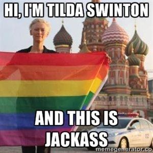 Tilda Swinton goes Kremlin. .. nowthatswhaticalledgy.png