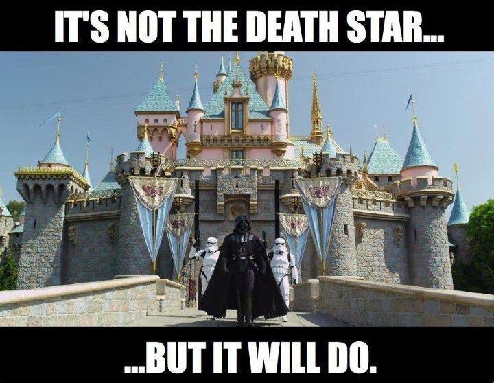 Title. Description. IT' S NET THE DEATH STAB... BIET IT WM Ill].. darth vader is best disney princess