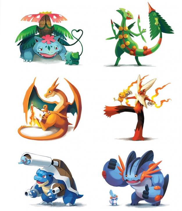 Title. Source: www.dorkly.com/post/64349/pokemon-make-good-parents.. No Swampert, don't do it! Pokemon