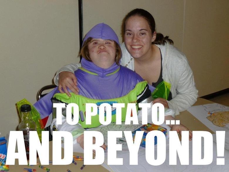 To potato. AND BEYOND.