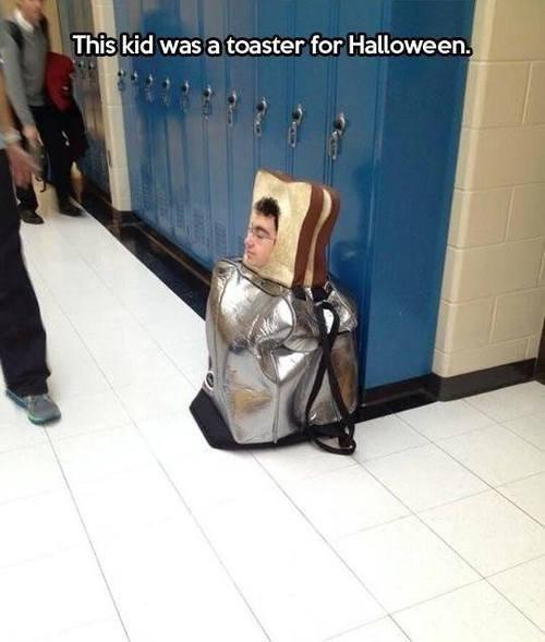 toasty. .. How brave...