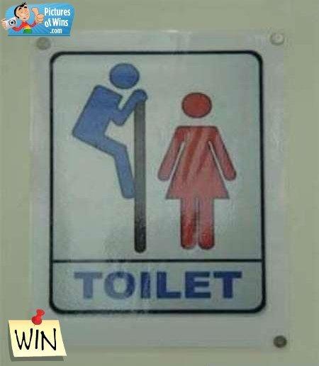 Toilet Peek. .