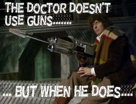 Tom Baker is best doctor still. .. ... goes down.
