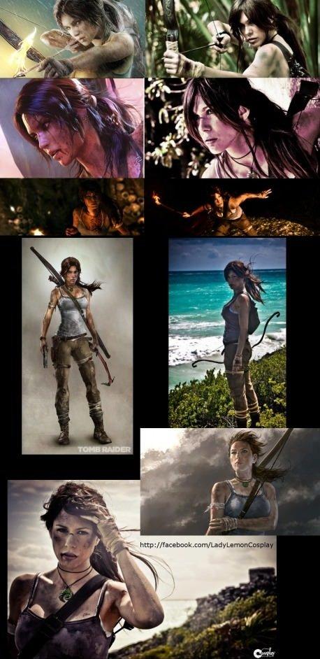 Tomb Raider Rebort CGi vs Reality. Tomb Raider Rebort CGi vs Reality . funny pictures