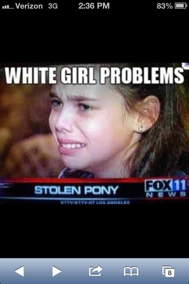 "too bad so sad. .. ""probably caused by blacks"""