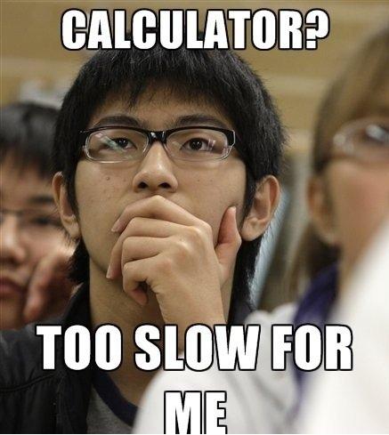Too Slow.. .