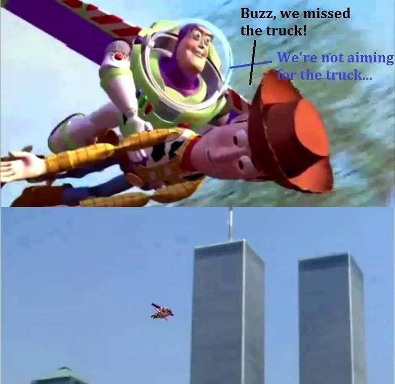 Too soon?. . Buzz, it! lilili aig {rot aiming. nvr 4getti
