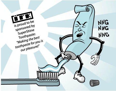Toothpaste Penis 37