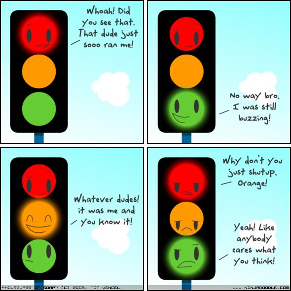 "Traffic Light. . ntt, oard In you an . nat : bsf Ha way' lates, M if was Hall Mo' Jan'? fun wer"""" Orange! tth, avetar ! was but awul if y' eso khan thl fink! Li"