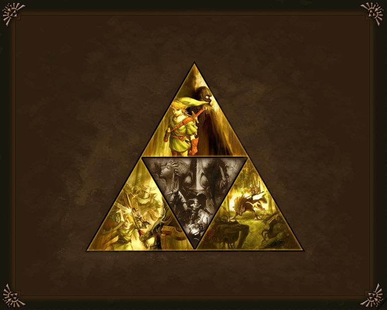 Triforce wallpaper. .