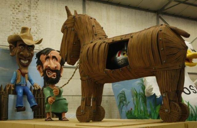 Trojan Horse Bomb. .