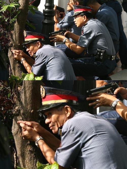 Troll Officer. BANG BANG!.. Those damn budget cuts
