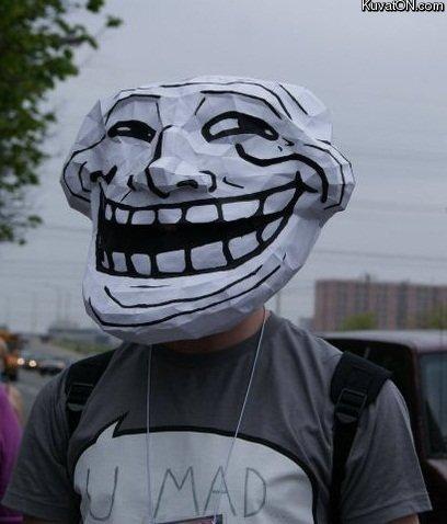 Troll irl. .. I love the shirt.