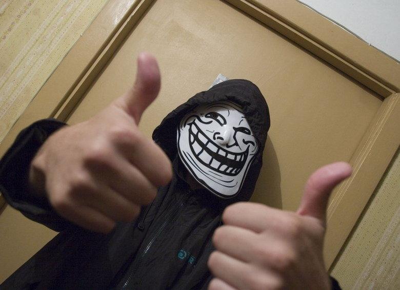 Trollface mask. Trollface masks on . trollface