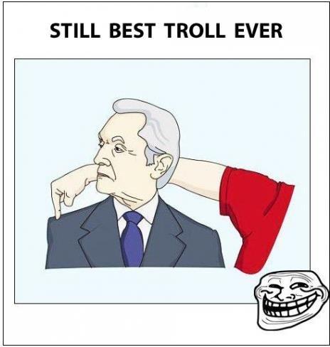 trolling is a art. . STILL BEST TROLL EVER