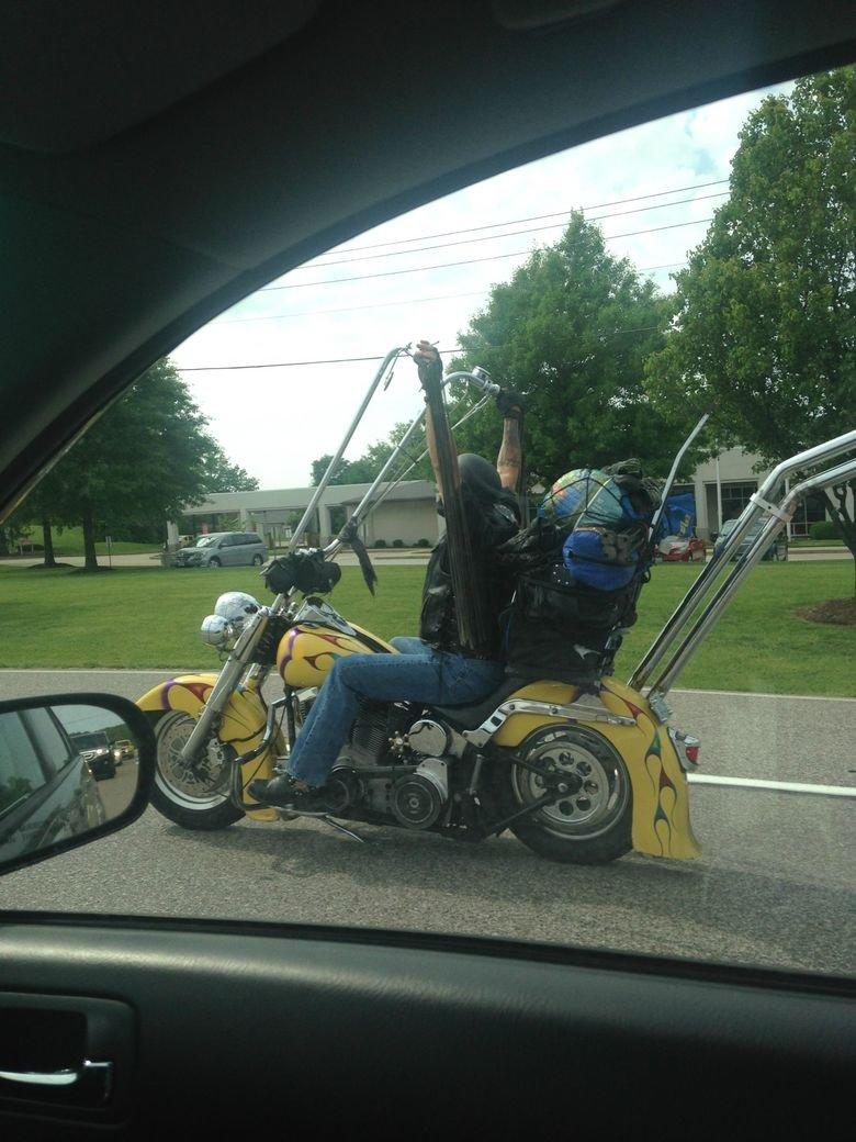 True biker. . I u my. time for a beer