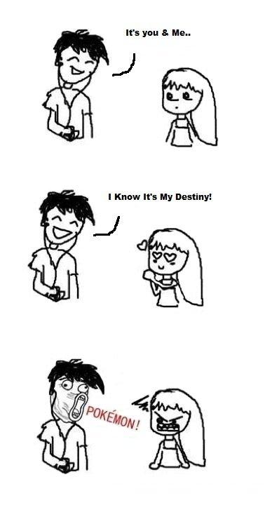 True Love. One of My Favorite Pokemon Comics.. almost had a girlfriend :< Pokemon Singing funny picture Love Girl boy
