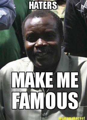 True on so many levels.... Kony is a thug.