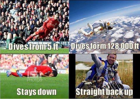 true story. Man fell from the sky.. pro True story Football