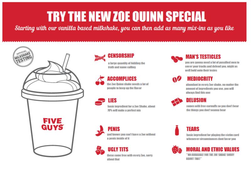 "Try the NEW Zoe Qinn SPECIAL!. . Iill' l THE NEW HIE SPEGITI Mb': aw based ! gnu. can. then. add as ' as cyan. 5.; Emmi! w ms mica Churn; esr tbe. "" test"" tart"""