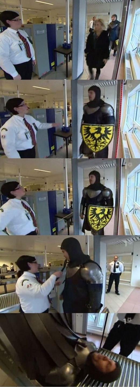 TSA Airport Scanning. .