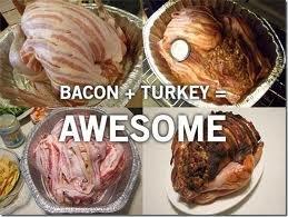 turkey or bacon. heart stopping. Bacon