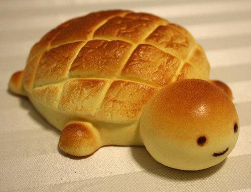 Turtle Bread. .. IT'S SO CUTE.