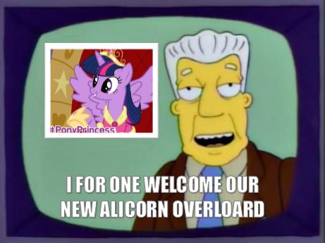Twilacorn. I felt making this was necessary... did someone say twilight princess? twilight season Four MLP ponies