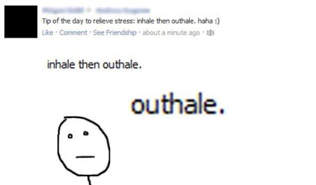 Twitter. myspace. Tip of the day to receve stress: neale then buthole. asdasdasdasd