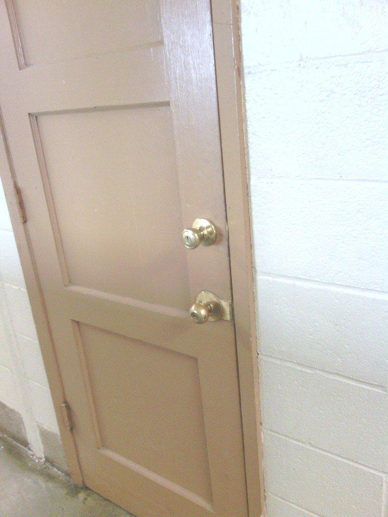 Two doorknobs. because you.. Monopeligics: Damn