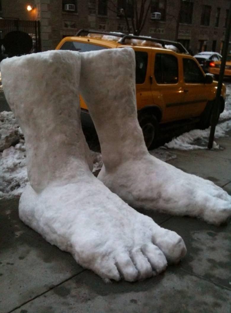 Two Feet of Snow. let it snow, let it snow, let it snow.. soooo...much...pun....