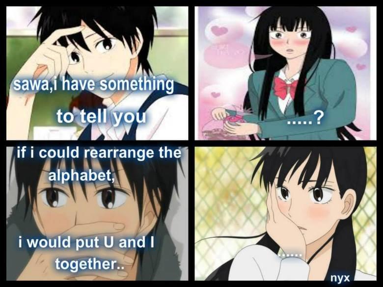 u and i. . iii, idiott, Anime Cute meme