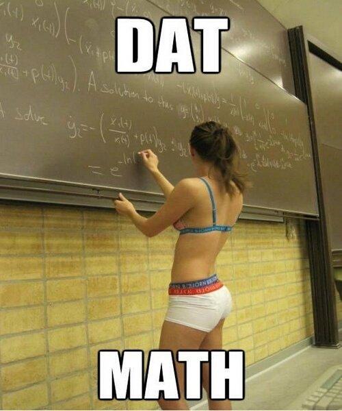 U + Me + D = . .. Maths
