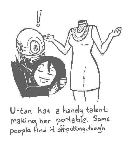 U-tan showcase. U-tan.. I have a pc, wii u, and ps4, but U-tan is my fav in these comics.
