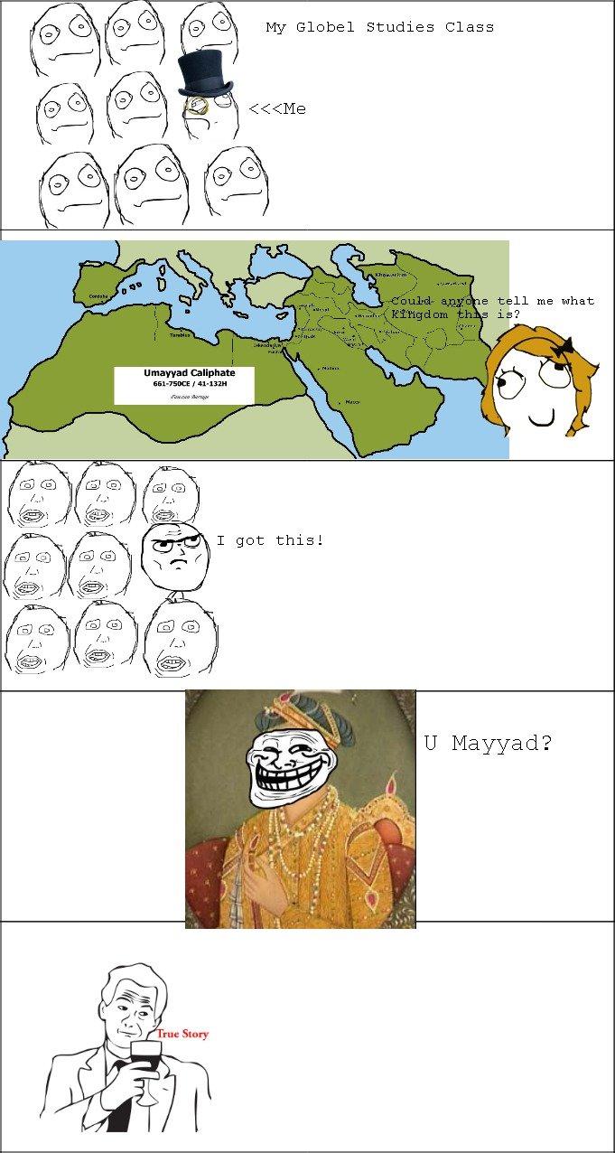 U Mayyad. just something i thought up. Caliphate U Mayday?