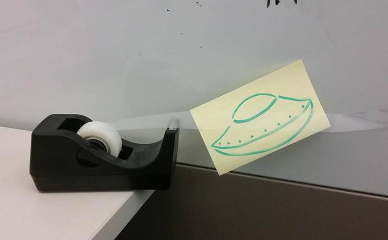 UFO Caught on Tape. ayy lmao.