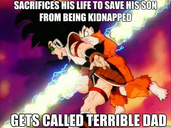 Unappreciated Goku. Tags are inspiring.. ill