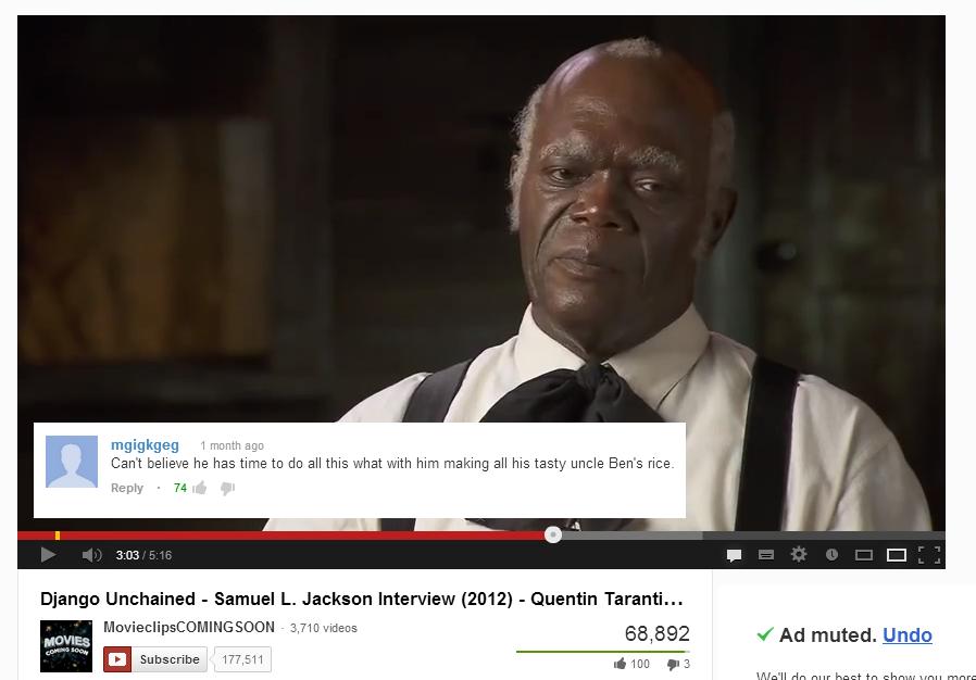 Uncle Jackson. OC. uncle bens rice django unchaned samuel l jackson