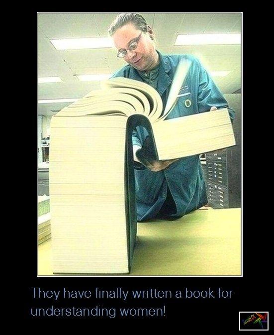 Understanding Women. .. Sure is repost up in here. understanding wo women Men books miracle