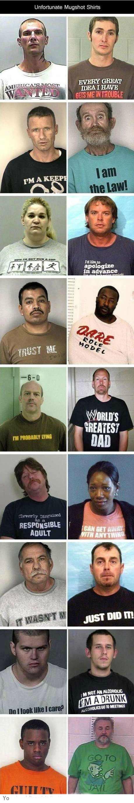 Unfortunate Mugshot Shirts. . Unfortunate Mugshot Shirts ADULT unfortunate shirts mugshots