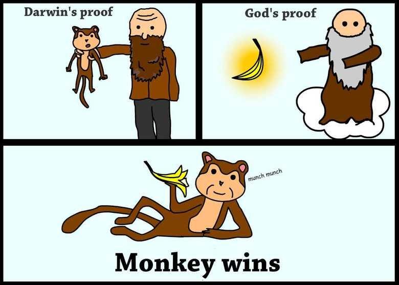 (untitled). Source:www.youtube.com/watch?v=QGMuIyBK5P4. Monkey wins. that makes 0 sense tho