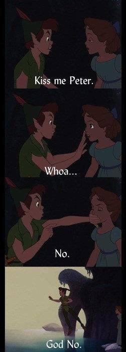 (untitled). . Kiss me Peter. Whoa,