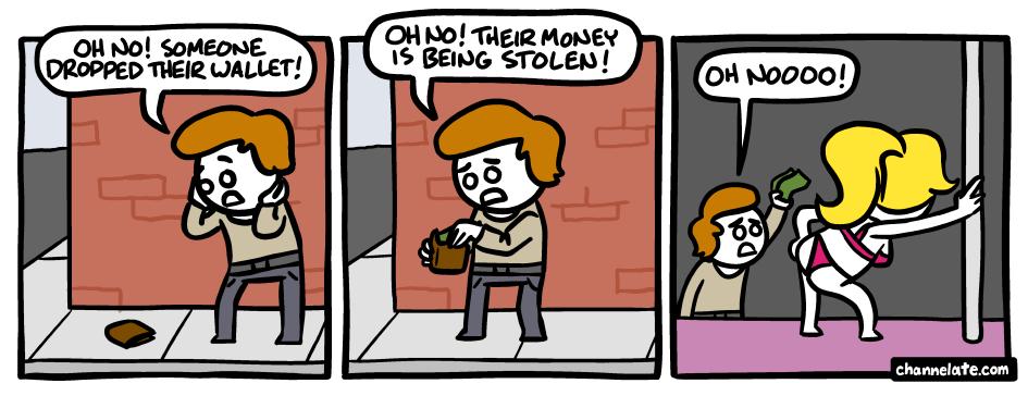 (untitled). . on no! : Hamlin' Money oh no