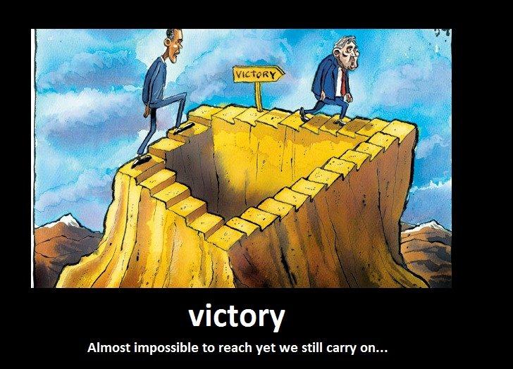 VICTORY...