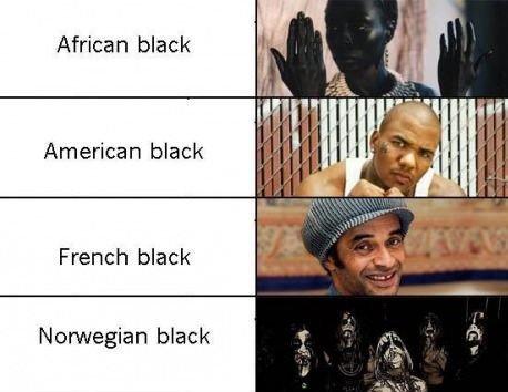 VIKINGS!. . African black American black French black Norwegian black