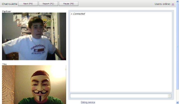 V scares kid. hahahaha. HUI l Users Partner chatroulette