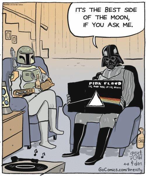 Vader. Description. IT' S we BEST SIDE OF we Moon, 11-! felate