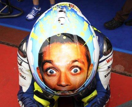 Valentino Rossi - Helmet. .